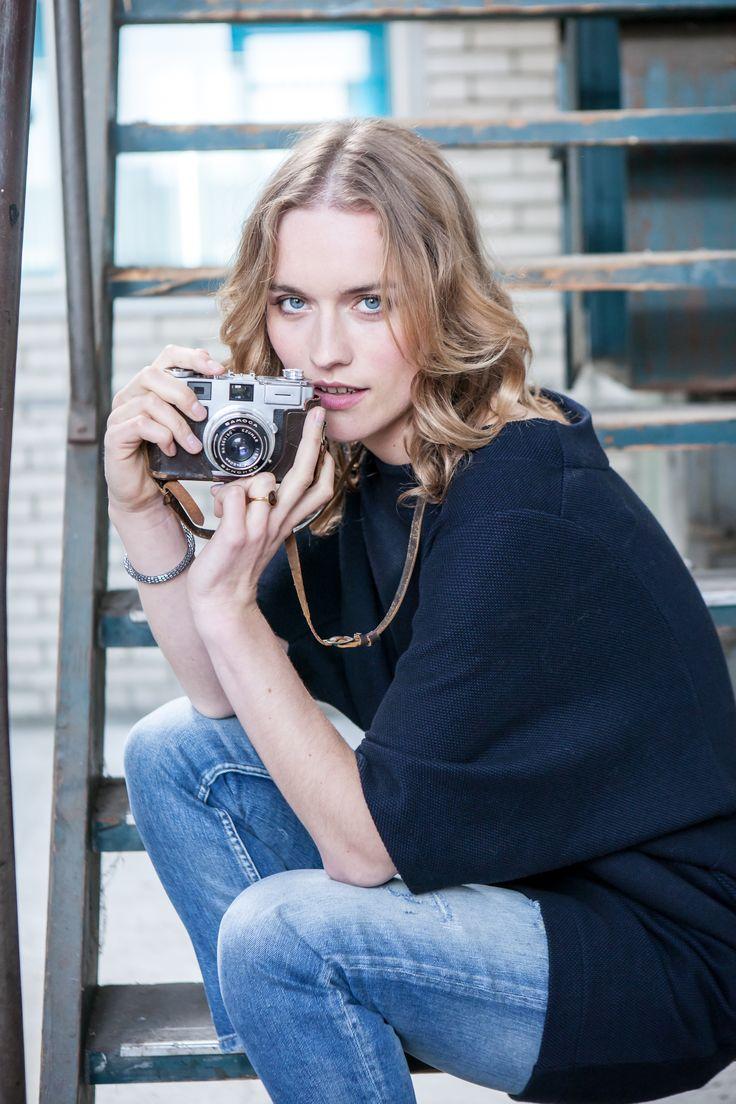 Coollness #tessdress #jeans #bybar #bybaramsterdam #camera #fashion #autumnwinter #collection2015
