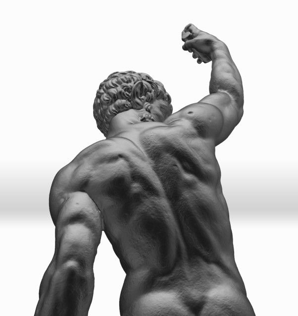 3D Scans of Lost Michelangelo Statues to Help in Their Preservation #3Dprinting