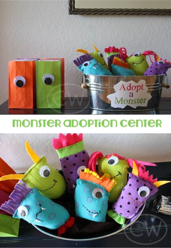 Monster Party.. Use these little guys for creative writing, writing with adjectives, etc.