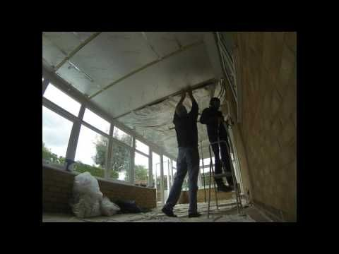 Conservatory Roof Insulation By Canary Home Improvements Ltd Youtube Conservatory Roof Insulation Roof Insulation Conservatory Roof