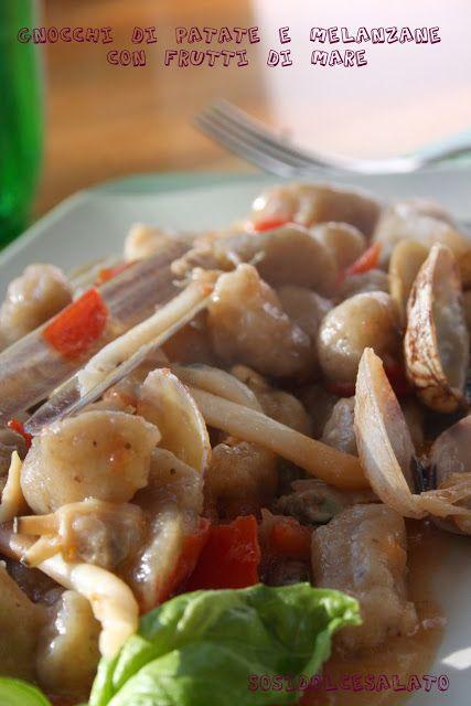 Gnocchi di Patate e Melanzane con Frutti di Mare