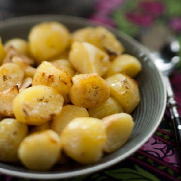 Paahdetut perunat, resepti – Ruoka.fi