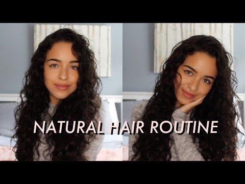 Curly Wavy Hair Routine Raimi Reyes Youtube Hair Routines Natural Hair Routine Healthy Curly Hair