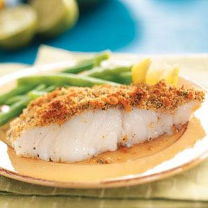 Crumb-Topped Baked Fish Recipe