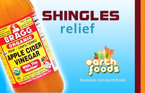 SHINGLES | Internally: Apple Cider Vinegar (Bragg brand) + Cayenne Pepper - 2 tsp ACV (Apple cider vinegar) in one tea cup's worth of pure spring water + 1/4 - 1/2 tsp of Cayenne Pepper, 2-3x a day, or as needed | Topically: Apply Apple Cider Vinegar to cotton balls and dab gently to affected areas. There is an initial sting, which is followed by extreme relief from the pain. Additionally, combining Coconut Oil (Nutiva brand, or unprocessed, unrefined coconut oil from health food store) 1…