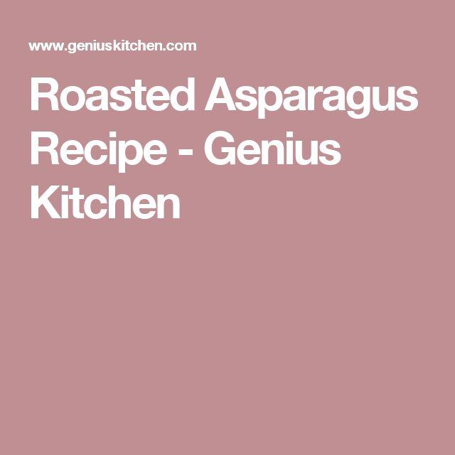 Roasted Asparagus Recipe - Genius Kitchen
