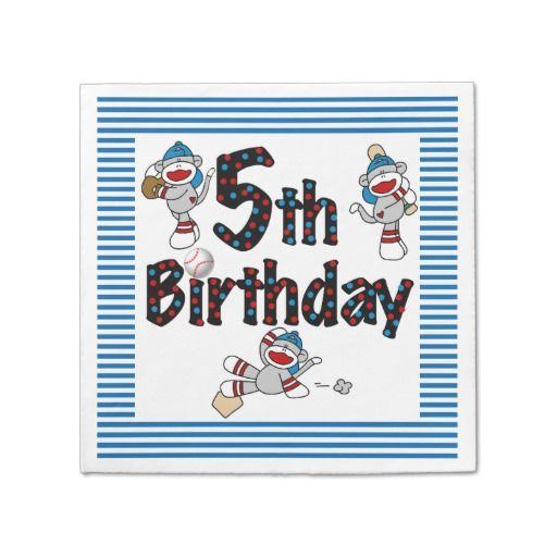 619 best Kids Birthday Plates and Napkins images on ...