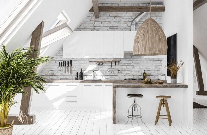 1001 Exemples Parfaits De La Cuisine Tendance 2019 Design De Cuisine Moderne Styles De Decoration Interieure Cuisine Americaine