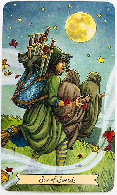 Everyday Witch Tarot Review Tarot The Lovers Tarot Card