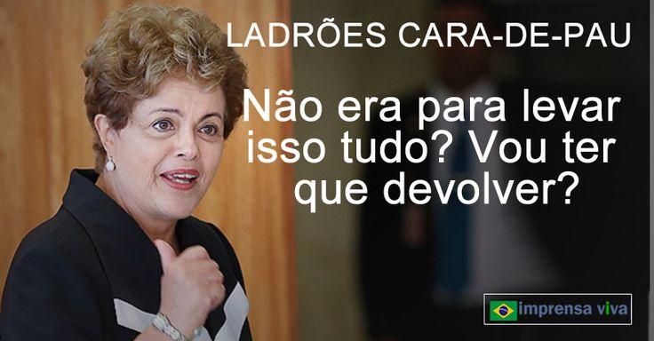 A ex-presidente Dilma rousseff têm 120 dias para restituir ao governo os 144 objetos que levou dos Palácios do Planalto e da Alvorada qu...