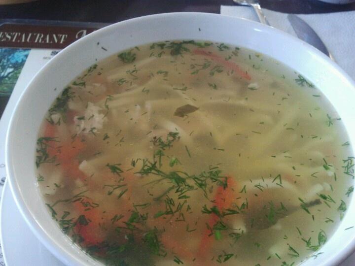 Moldovian Zanma soup