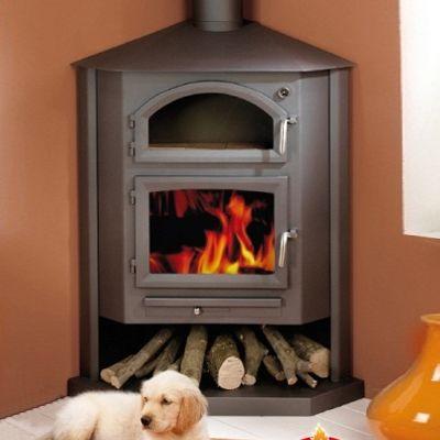 Bronpi Gredos-H Corner Wood Burning Cooking Stove
