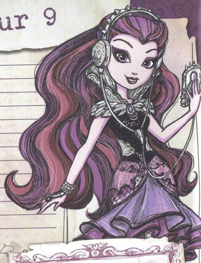 Raven Queen | Рисунки, Детские рисунки, Аниме девушка