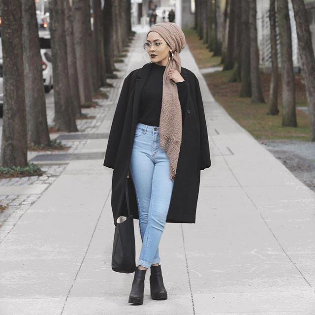 : @yesenia_2020 Outfit: H&M Hijab: La Modesty Glas…