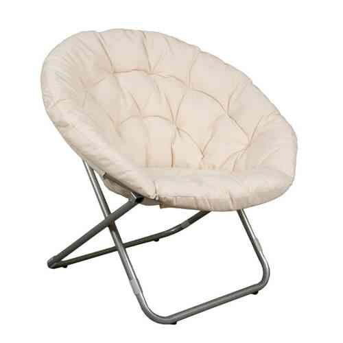 Sill n vintage beige papasan plegable disponible en m s for Large papasan chair