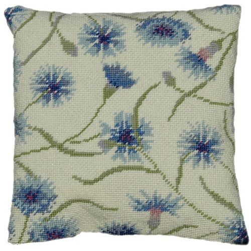 Cornflower Herb Pillow Tapestry kit - £37.99