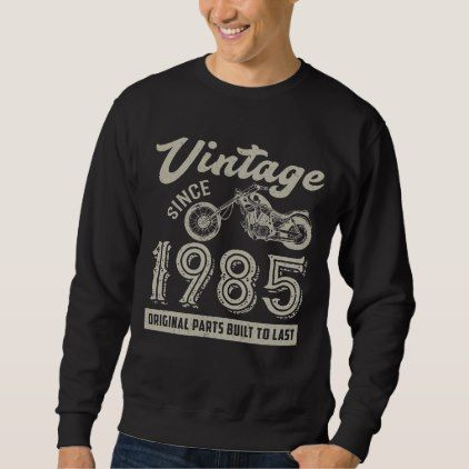 Retro Motorcycle Tee For 33rd Birthday. - giftidea gift present idea number 33 thirty-third thirty thirtythird bday birthday 33rdbirthday party anniversary 33rd