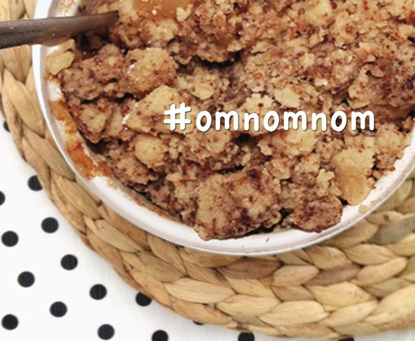 Recept: suikervrije apple crumble
