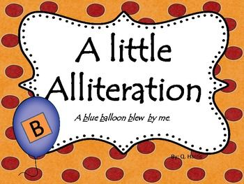 alliteration 2015 learning alliteration alliteration sentence the ...