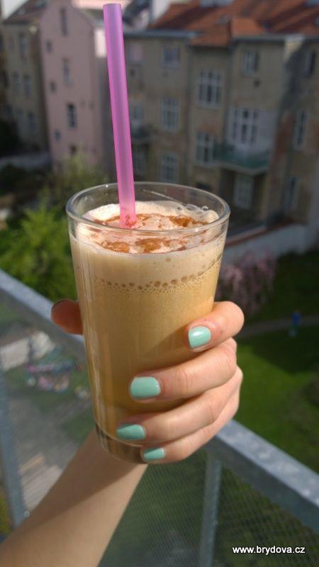 Lahodná ledová káva