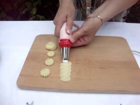 мастер-класс по кондитерским насадкам - учимся, используя картофельное пюре (отличная идея!)
