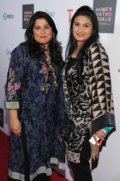 Mahjabeen Obaid-Chinoy Photos - CEO of SOC Films Sharmeen Obaid-Chinoy (L) and Mahjabeen Obaid-Chinoy attend the Women In World Summit at the David H. Koch Theater at Lincoln Center on April 22, 2015 in New York City. - Women In World Summit Held In New York