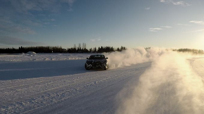 This Lucid Air electric car winter test video reminds us snow can be good