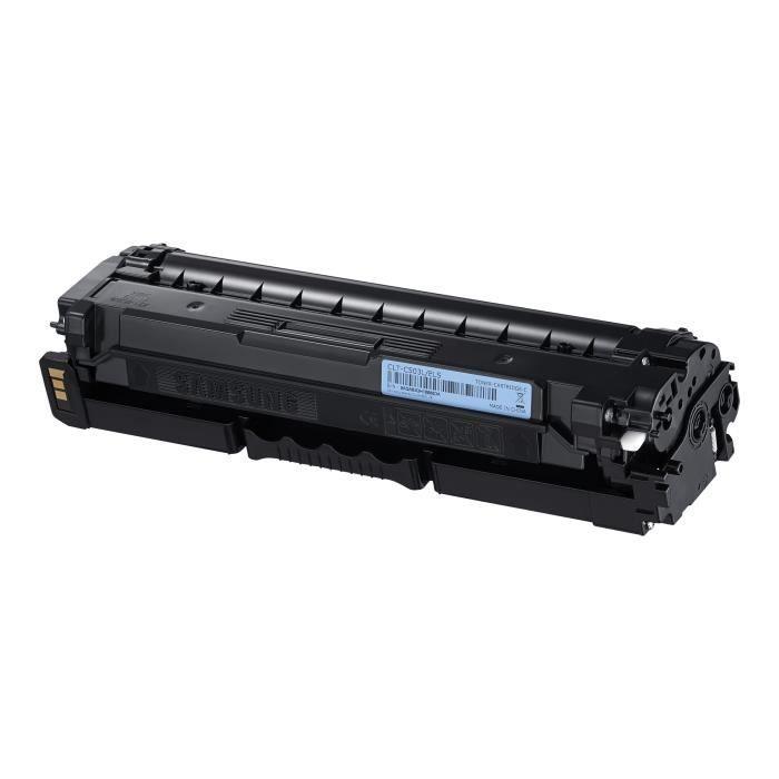 Cartouche de toner cyan haut rendement Samsung CLT-C503L (SU014A) pour SL-C3010ND | C3060FR
