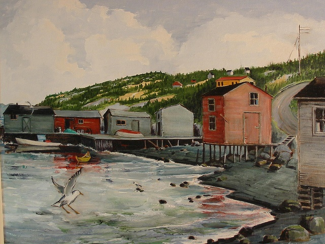 Newfoundland Collection 223 painted by Louis Engelhart from Artforyou