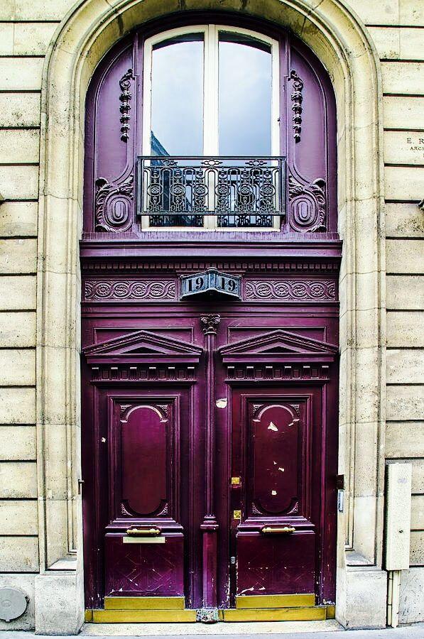 Doors ~ Paris, France  creating exquisite door hardware is our specialty > www.baltica.com