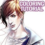 Coloring Tutorial by sakimichan.deviantart.com on @deviantART