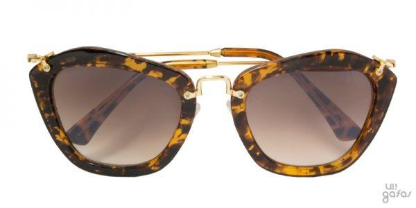 Óculos De Sol Gatinha Inspired Em Metal E Acetato || Ui! Gafas / Noir - UI439