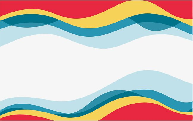 Colorful Wave Border Wave Vector Border Vector Vector Png Png Transparent Clipart Image And Psd File For Free Download Clip Art Waves Vector Clipart Images