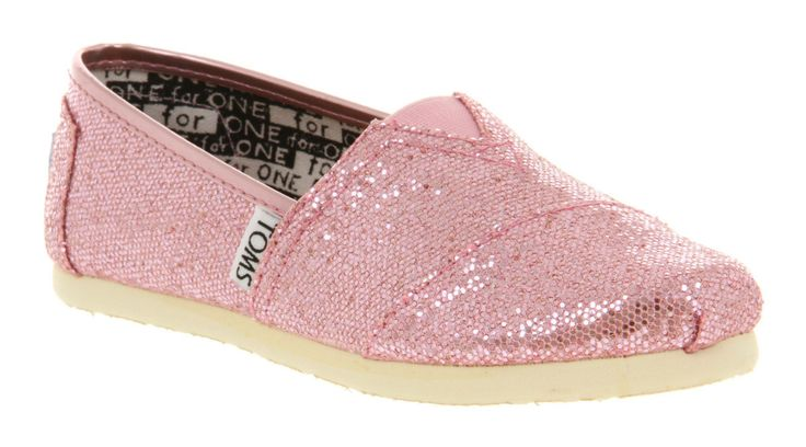 TOMS Glitter Original Youth | Pink