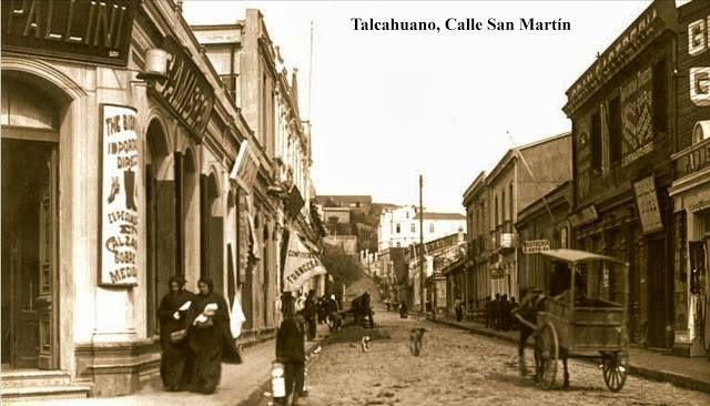 Mi calle (San Martín con Colón).