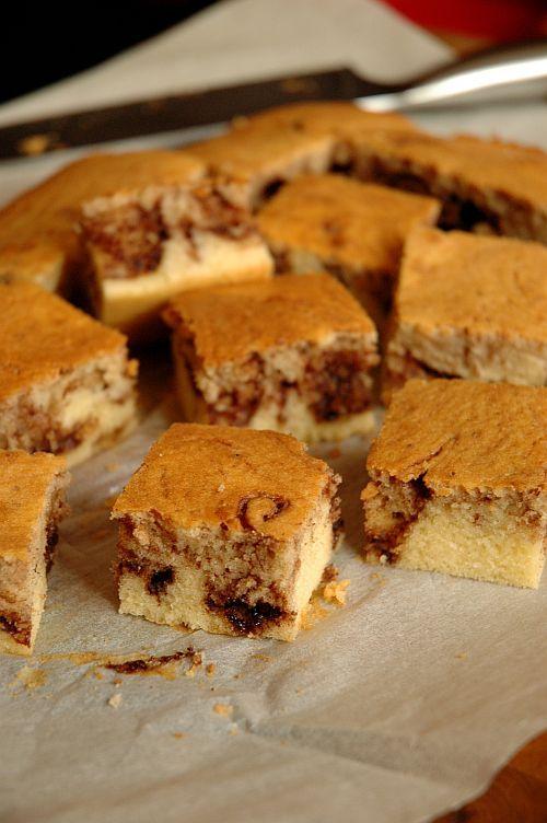 Nutella marble cake