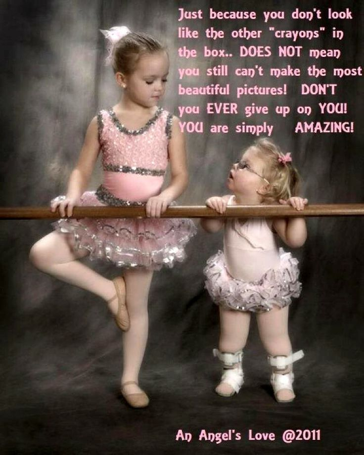 Down Syndrome ballerina. So precious. Perfectly sweet little girl <3