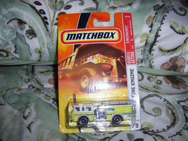 Matchbox Pierce Fire Engine Die cast 1/64 scale Die cast metal New in package #Matchbox #Pierce
