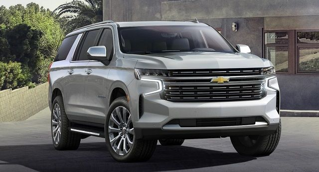 2021 Chevy Suburban Set For A Debut In Detroit Suvs Daily In 2020 Chevrolet Suburban Chevy Suburban Chevrolet Tahoe