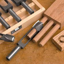 5 Piece Plug & Tenon Set w/ Case