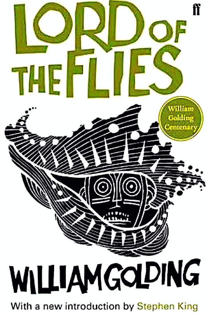 What happens when a group of young boys tries to start their own government on a deserted island? Chaos and anarchy, of course. Lord of the flies by William Golding -bookerina.com