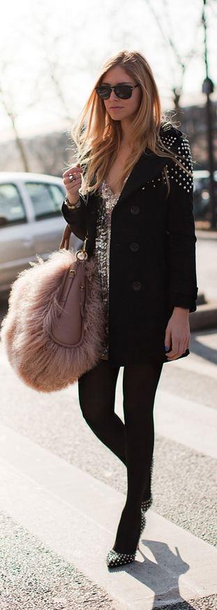 Amen dress, Louboutin shoes and a Dior bag<3 na