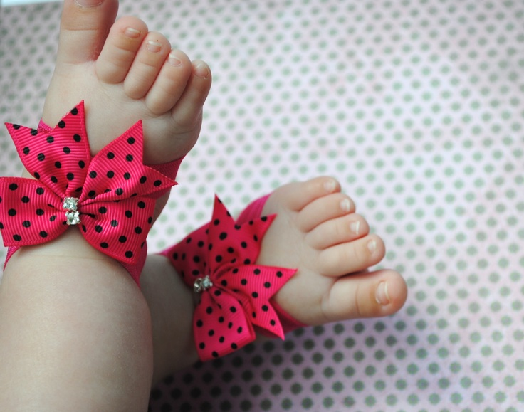 Infant Barefoot Sandals.