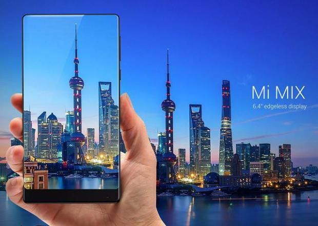 Xiaomi Mi Mix Edgeless Display
