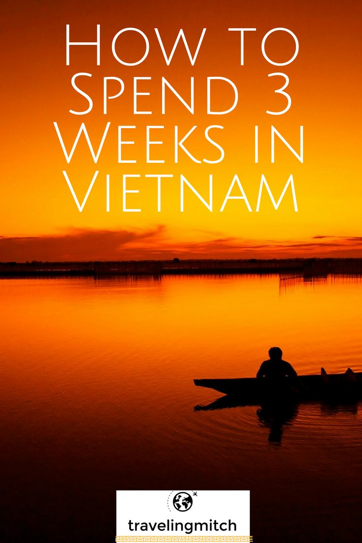 Vietnam is an incredible country to visit, but it's important to have a game plan. Look no further! This is a thorough Vietnam itinerary to help you decide how to get the most out of your three weeks in Vietnam! Don't wait, find w way to spend those 3 weeks in Vietnam!