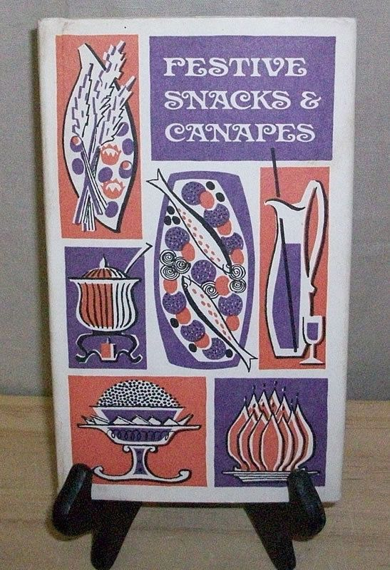 383 best images about glorious vintage graphics cookbook for Canape cookbook