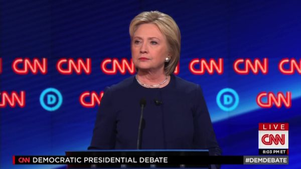 Watch the video Clinton calls for Gov. Snyder to resign on Yahoo News . On March 6, Hillary Clinton and Bernie Sanders face off in a Democratic debate held in Flint, Mich. For the first time, Clinton calls for Michigan Governor Rick Snyder to resign in light of the Flint water crisis.