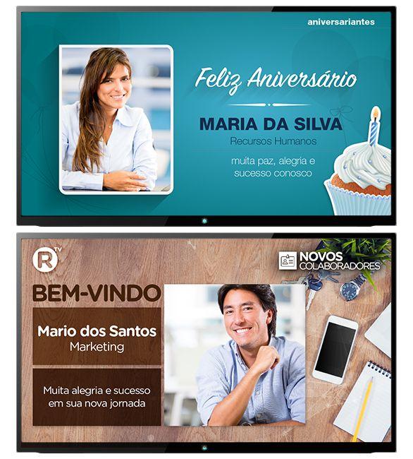 TV Corporativa, Menu Board Digital, Software de Sinalização, Mídia Indoor