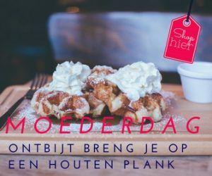 Moederdag Ontbijt ♥ Hippe houten serveerplanken - Mels Feestje