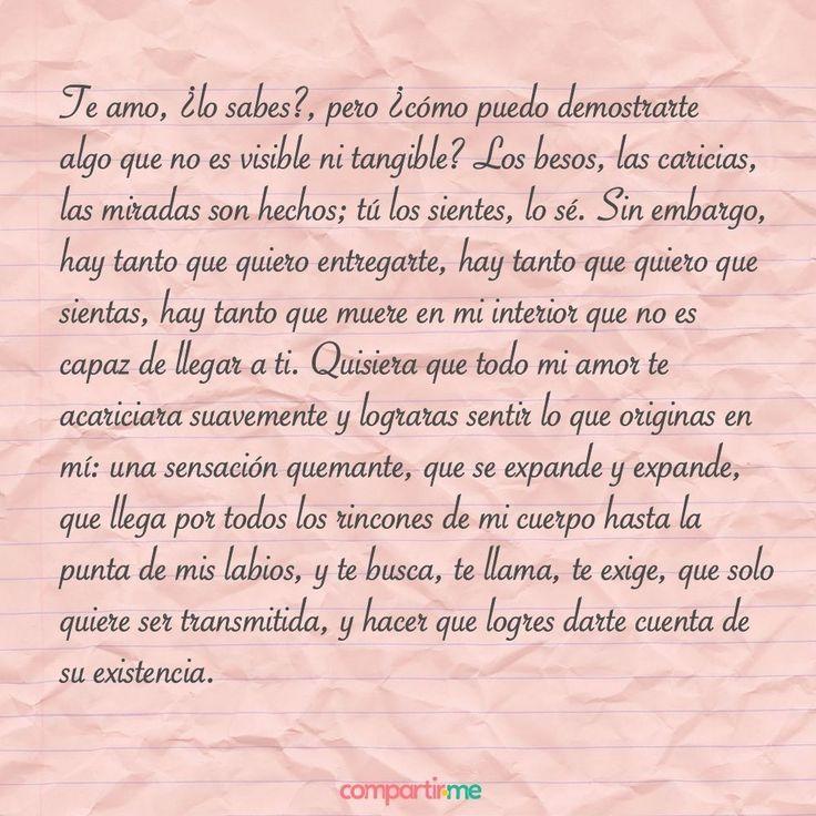 Te amo, ¿lo sabes?❣️